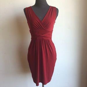 Loft sz 0P cute red cocktail dress